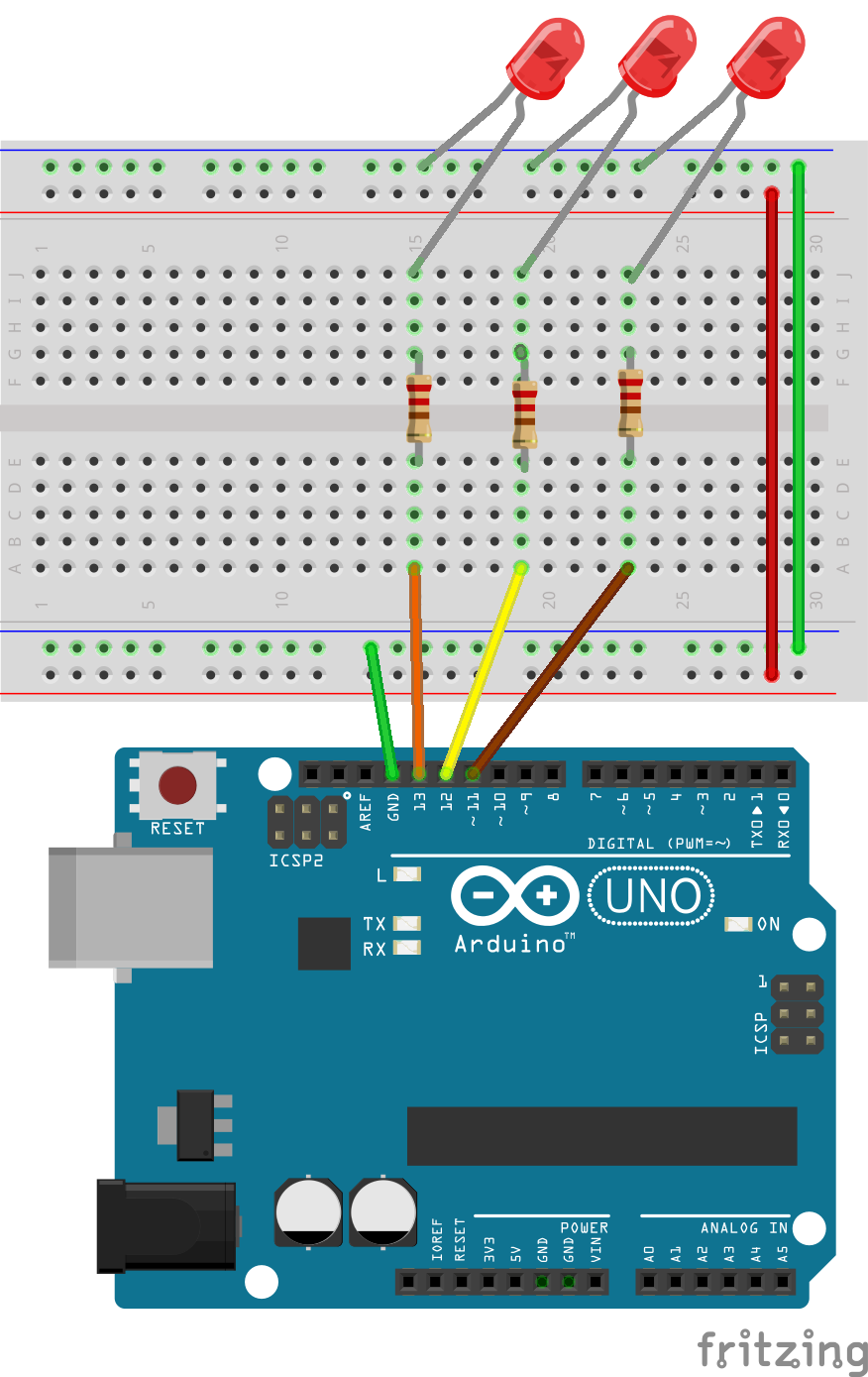 Oosmos Blink Example Wiringpi Led Figure 1 Arduino Wiring Diagram
