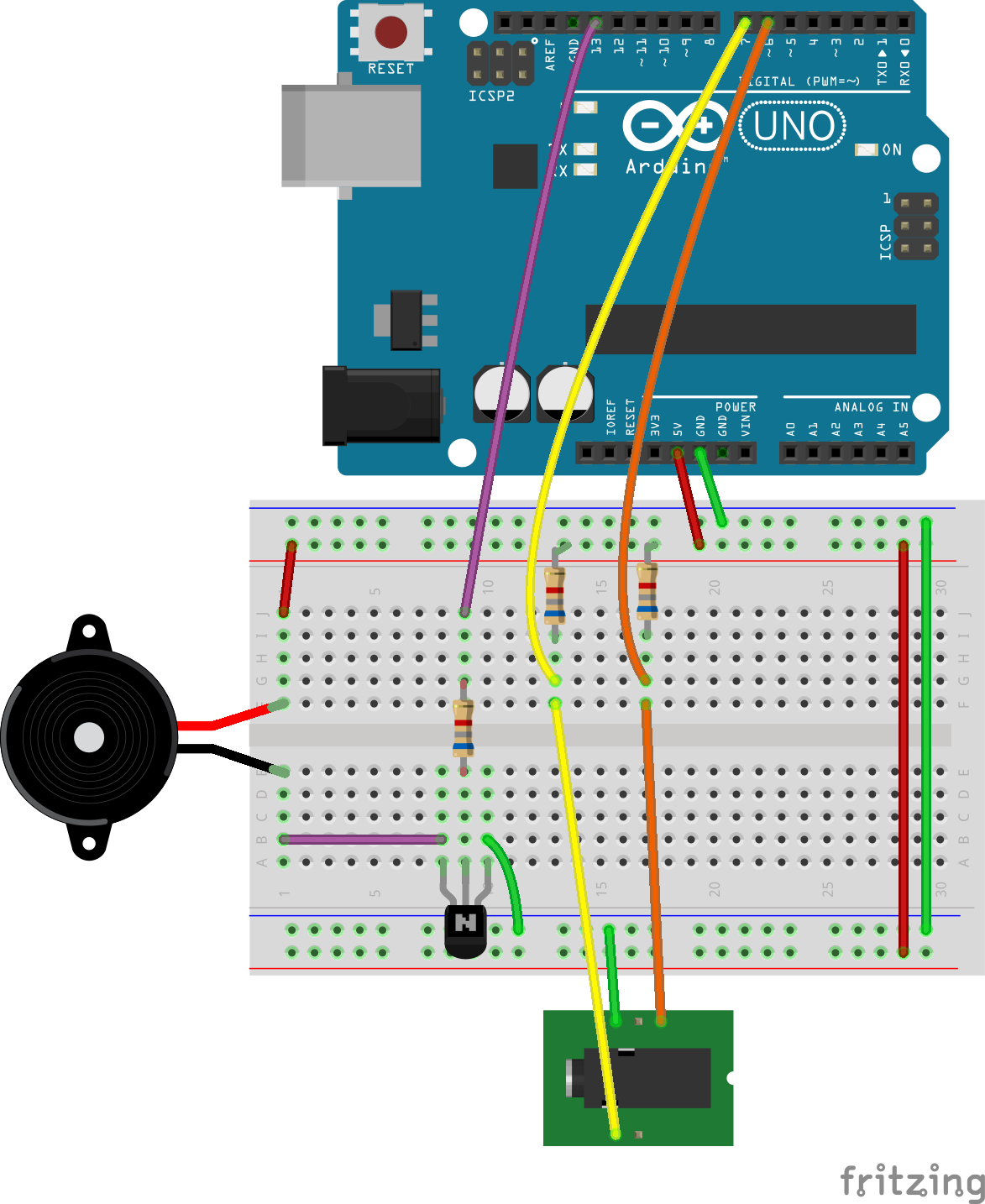 Oosmos Morse Code Keyer Example Simple Electronic 22 On Arduino