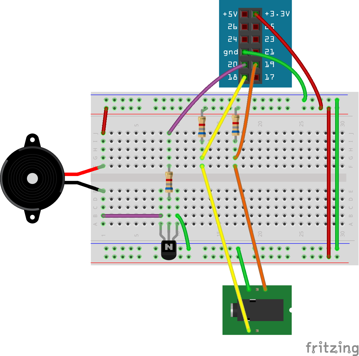 OOSMOS | Iambic Morse Code Keyer Example