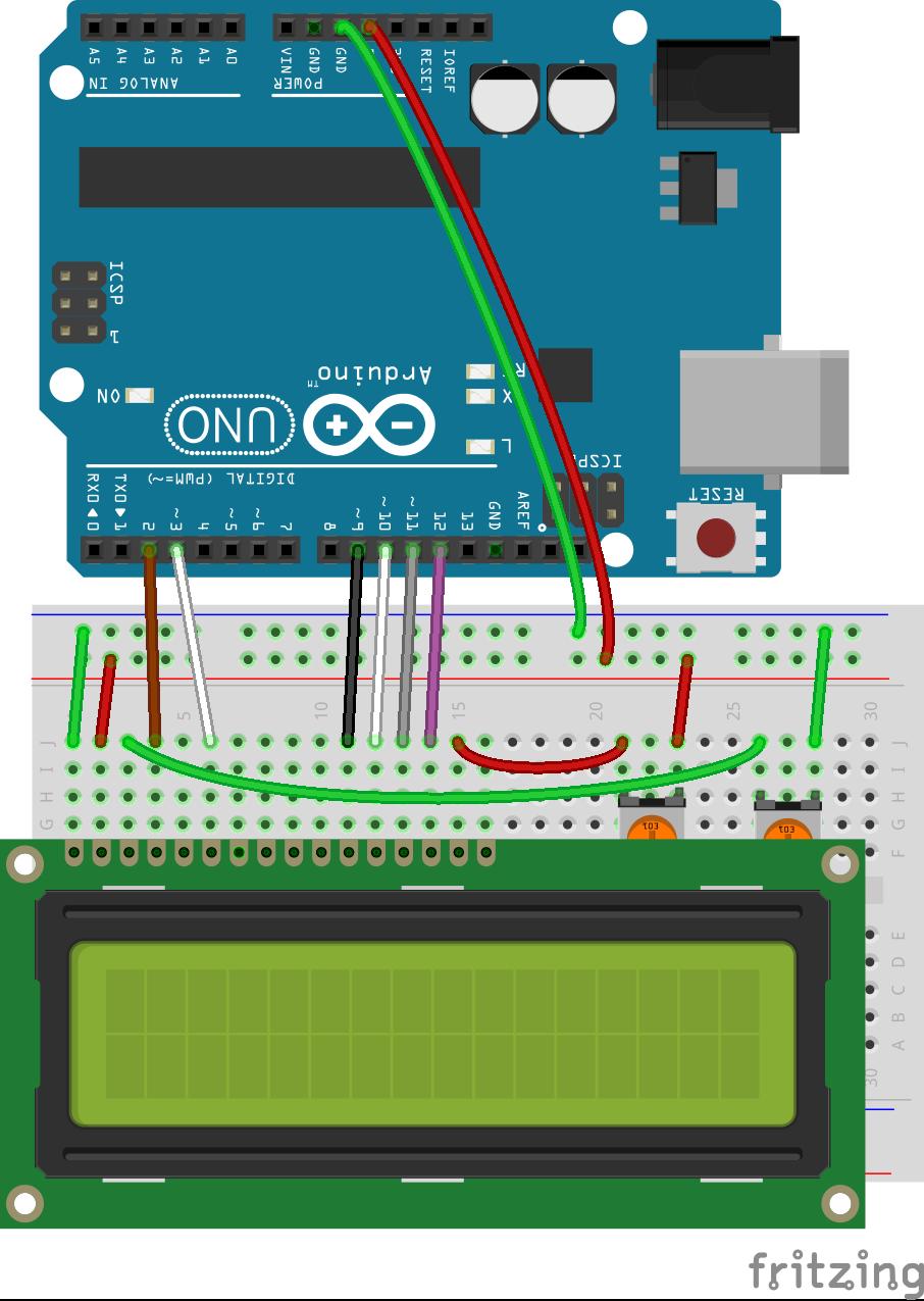 Arduino Lcd Wiring Diagram - Wiring Diagrams Schematics